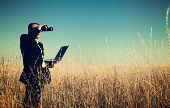 A real estate broker scouting out Commercial Land for Sale in Peoria IL